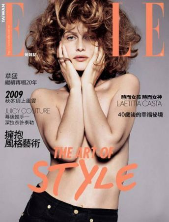 Laetitia Casta 2010. Laetitia Casta for Elle Taiwan