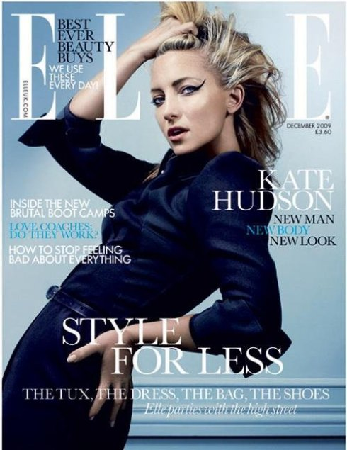 Elle UK Dec 09 Kate Hudson by David Slijper