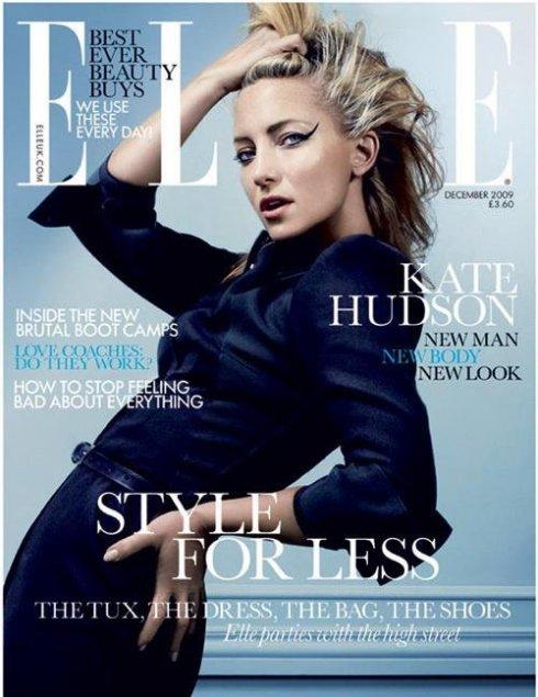 Elle UK Dec 09 Kate Hudson by David Slijper