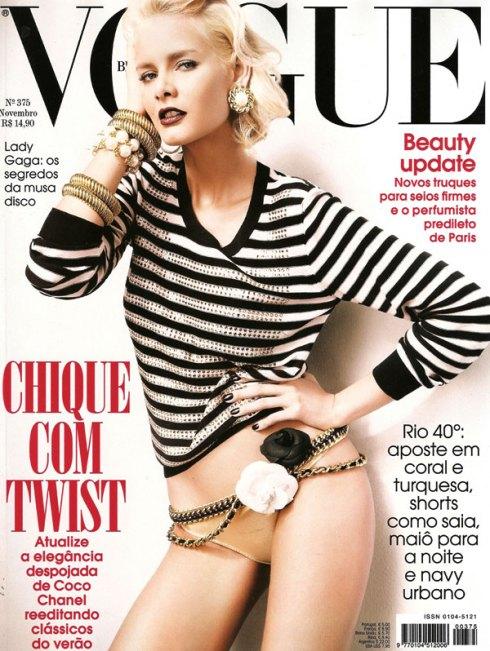 Flavia de Oliveira Vogue Brazil Nov 09 by Fabio Bartelt