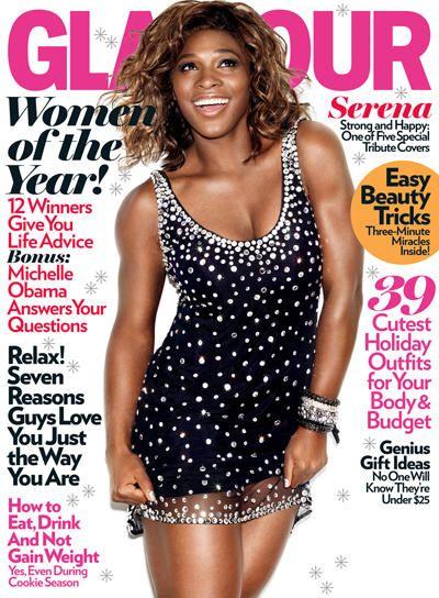 Glamour Dec 09 Serena Williams