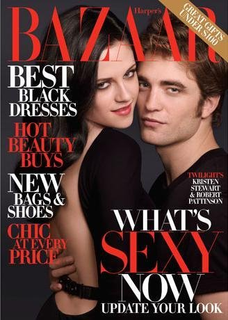 Harper's Bazaar US Dec 09 Kristen Stewart & Robert Pattinson by Mark Seliger