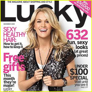 Lucky Dec 09 Carrie Underwood