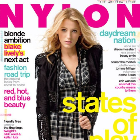 Nylon November 2009 Blake Lively by Matthew Frost