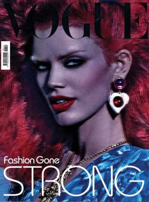 Vogue Italia Nov 09 Rianne ten Haken by Meisel