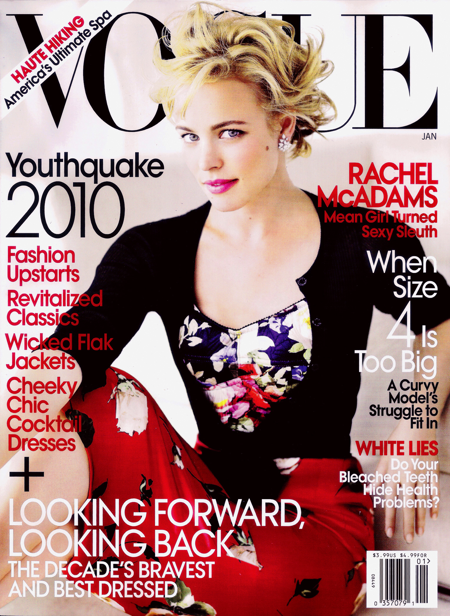 rachel mcadams for us vogue january 2010 art8amby 39 s blog