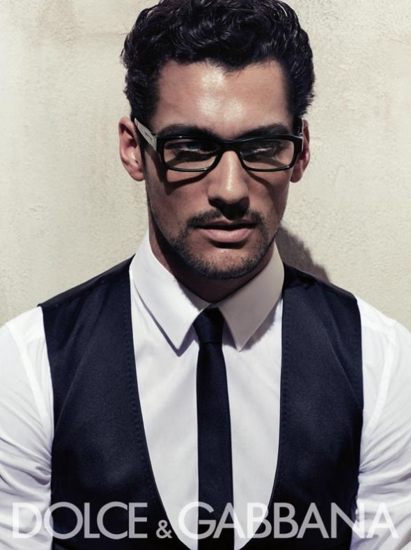 Dolce Gabbana Eyewear David Gandy by Steven Klein 2