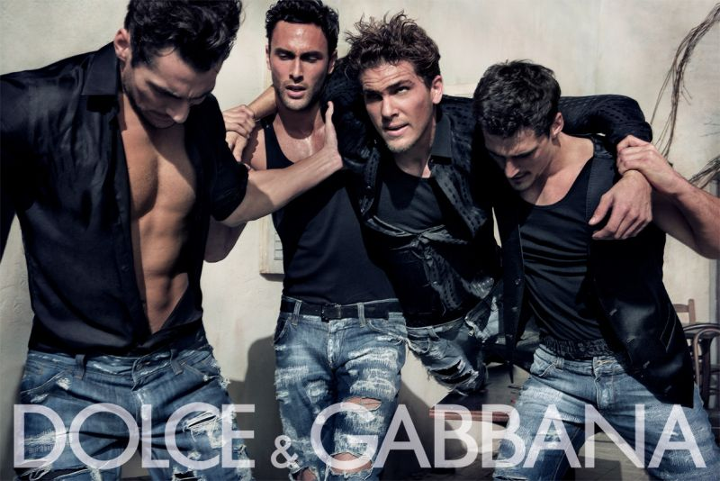 More Dolce & Gabbana Men Spring Summer 2010 Ad Campaign