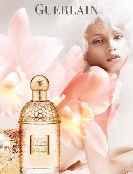guerlain aqua allegoria flora nymphea fragrance ad campaign art8amby 39 s blog. Black Bedroom Furniture Sets. Home Design Ideas
