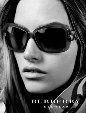 Another Burberry Eyewear Spring Summer 2010 Ad Campaign ...
