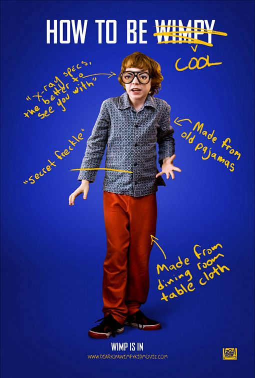 Diary Of A Wimpy Kid Character Poster