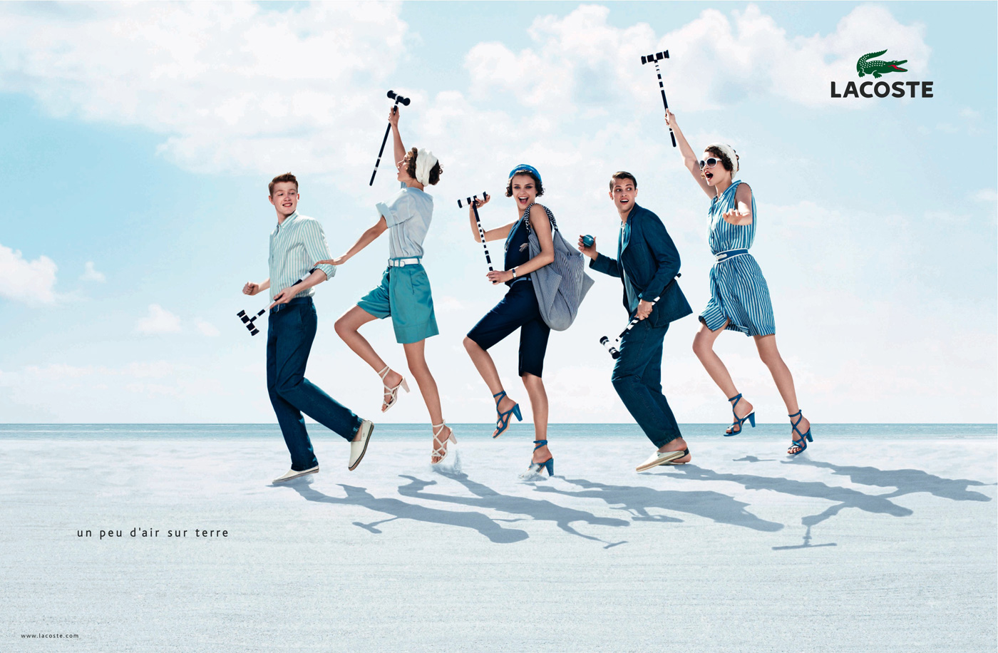 Lacoste Campaign, Spring-Summer 2010