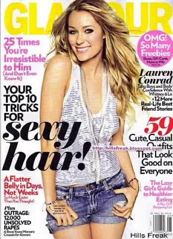 Lauren Conrad for Glamour US