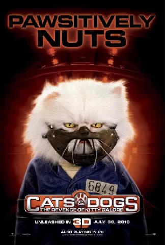 Cats \u0026 Dogs 2 Character Posters Part 1