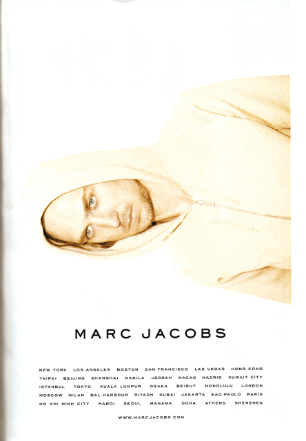 Marc Jacobs Magazine Ad