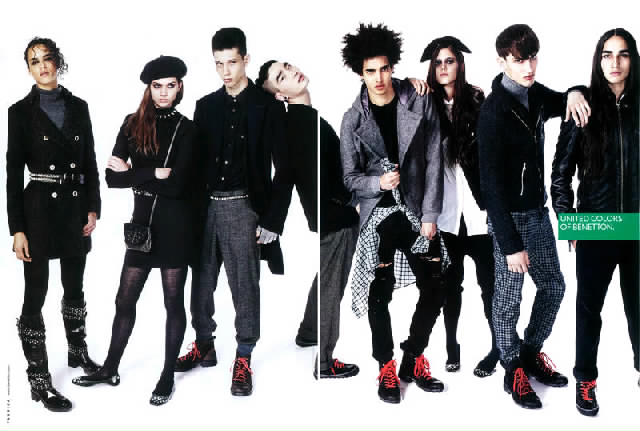 Benetton fall winter 2010 ad campaign preview art8amby 39 s for Benetton we are colors