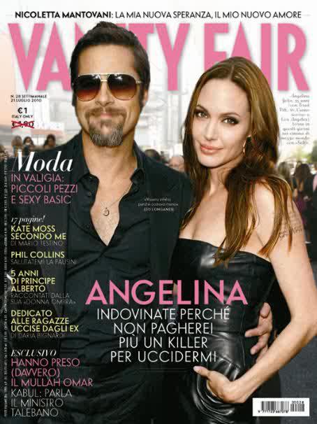 Brad Pitt & Angelina Jolie for Vanity Fair Italia July 21st 2010