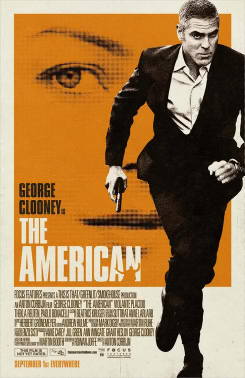 Filme Poster The American CAM XviD-NoGRP