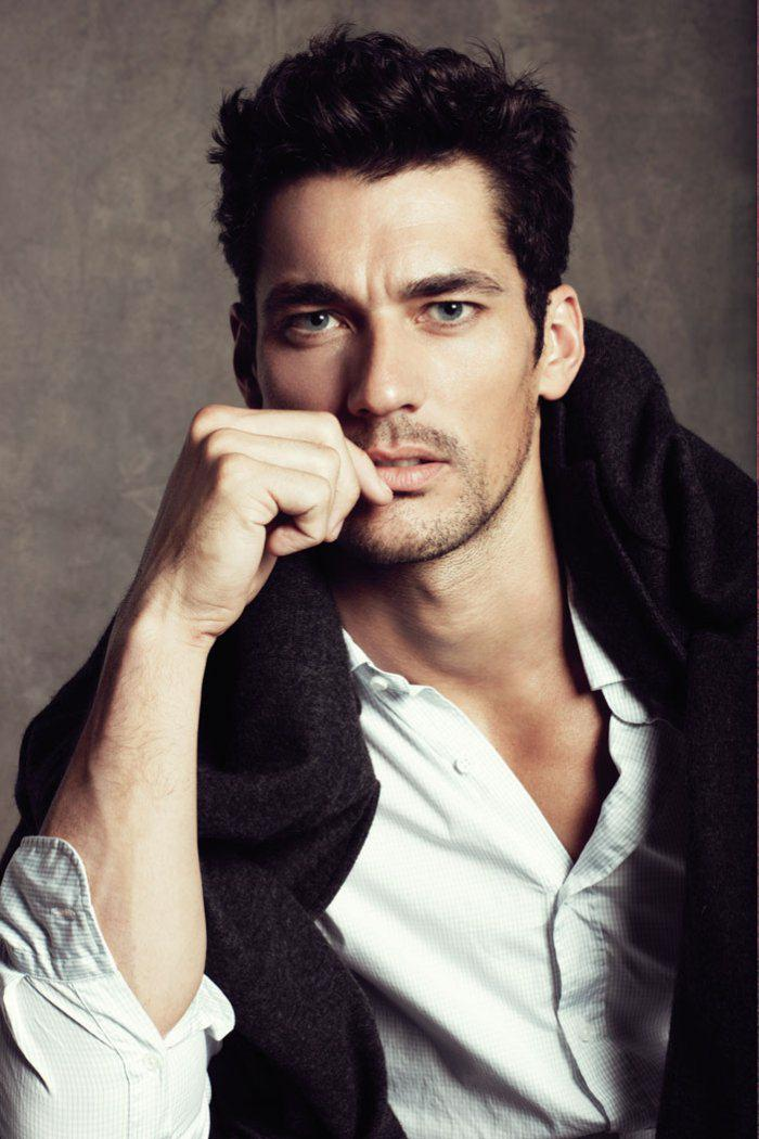 david gandy blog. David Gandy and Edita