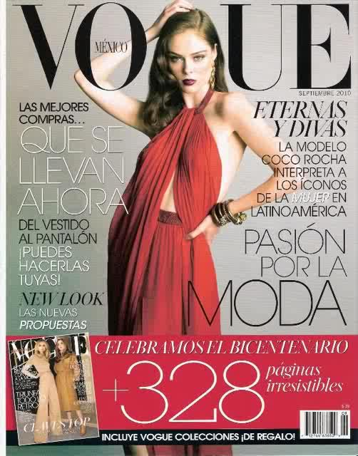 september 2010 vogue. for Vogue Mexico September