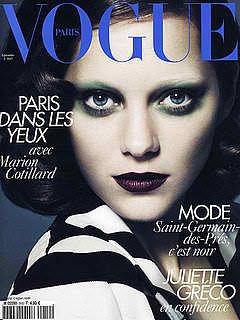 Marion Cotillard for Vogue Paris September 2010