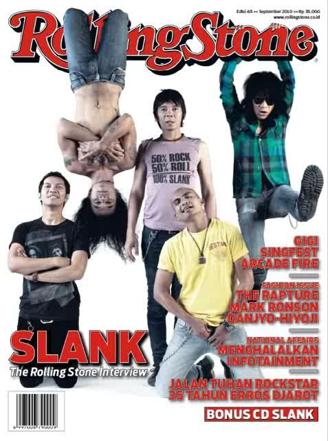Slank for Rolling Stone Indonesia September 2010