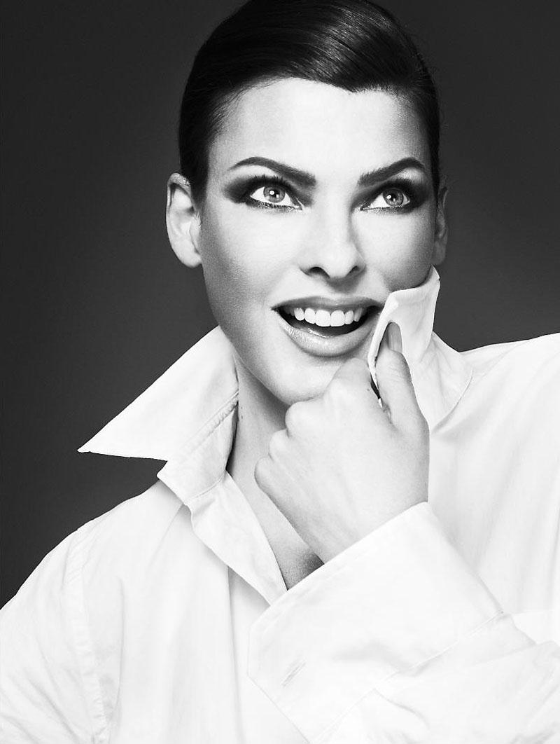 Linda Evangelista Covers The 35th Anniversary Issue Of: Talbots Fall 2010 Ad Campaign