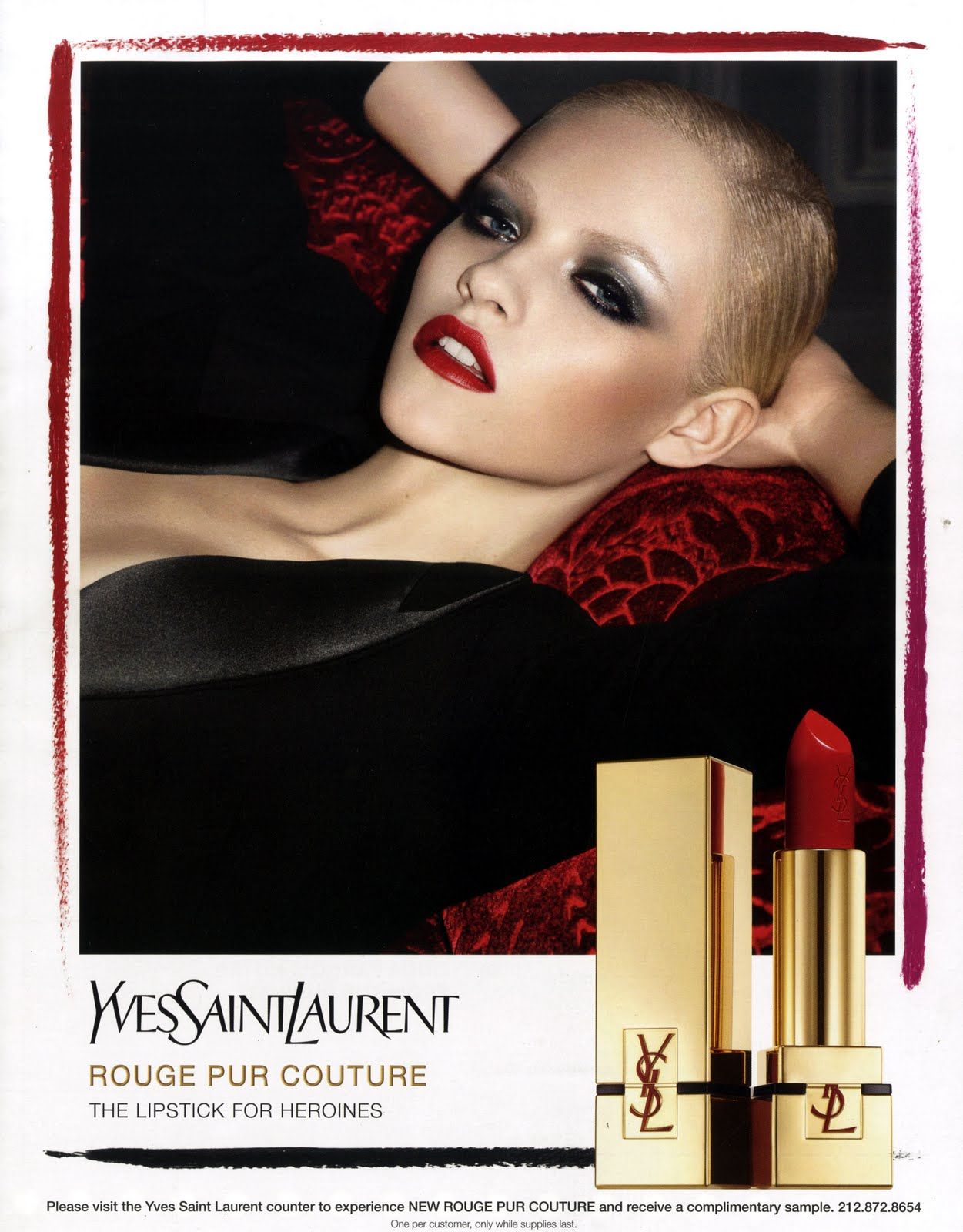 Yves Saint Laurent Rouge Pur Couture Fall