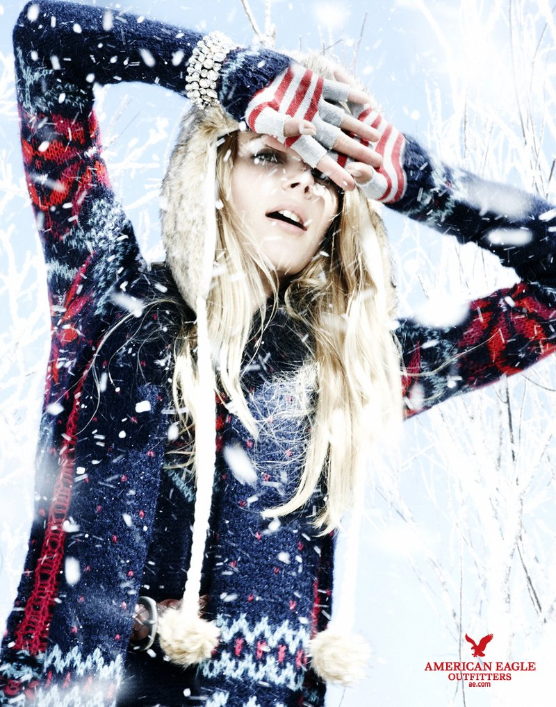 American Eagle Outfitters Holiday 2010 Ad Campaign ...
