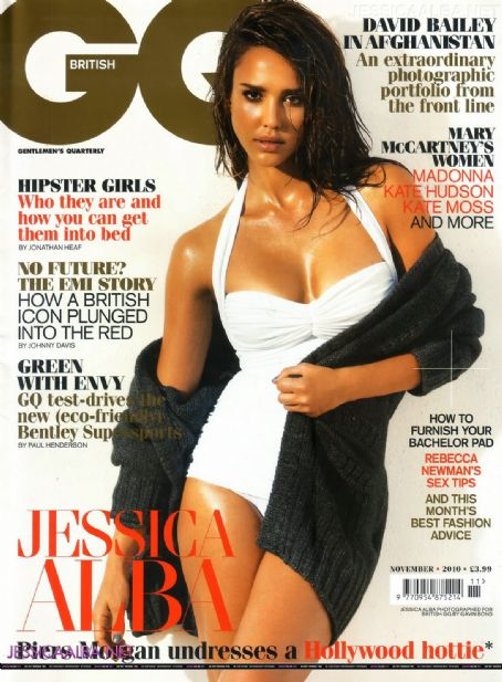 Jessica Alba for GQ UK November 2010