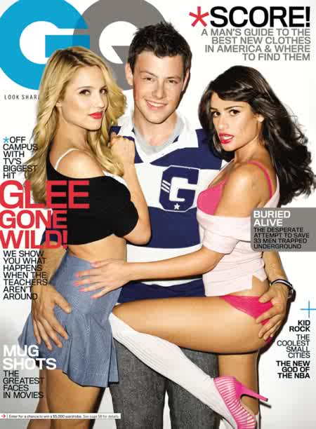 dianna agron lea michele cory monteith. Dianna Agron, Cory Monteith