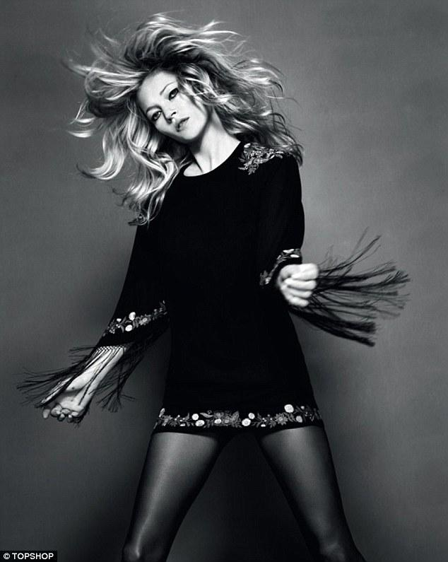 Kate Moss for Topshop Fall Winter 2010 Ad Campaign ...