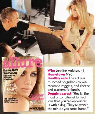 Jennifer Aniston for Allure February 2011