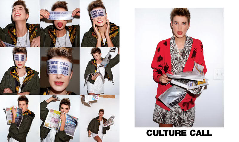 agyness deyn 2011. Culture Call Spring 2011 Ad