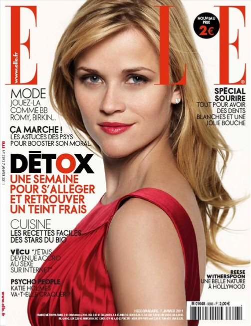 Reese Witherspoon Hair Elle. Reese Witherspoon for Elle