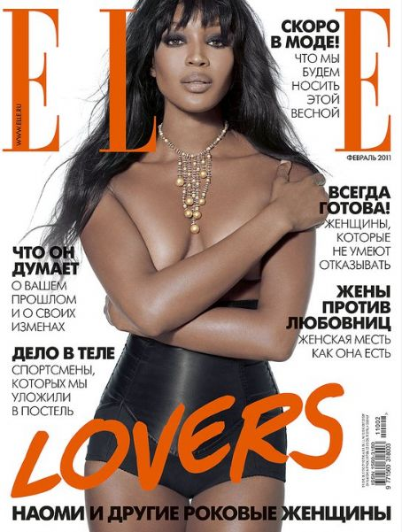naomi campbell 2011. Naomi Campbell for Elle Russia