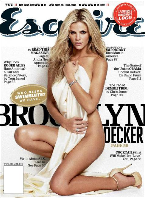 Brooklyn Decker for Esquire US