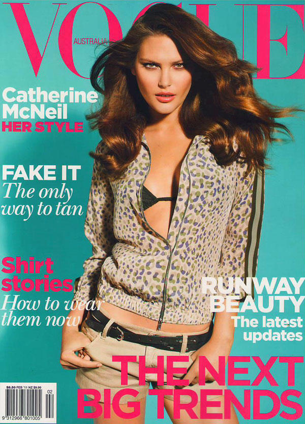 Catherine McNeil for Vogue Australia February 2011 ...