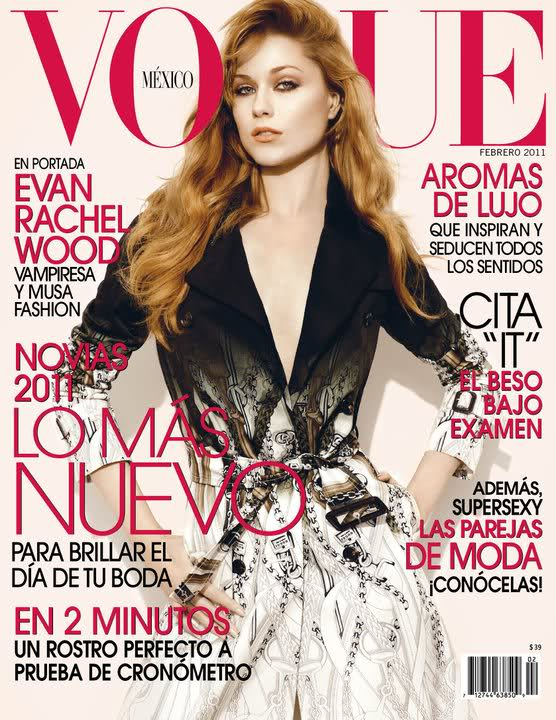 8f34139c0 Evan Rachel Wood for Vogue Mexico February 2011 | Art8amby's Blog