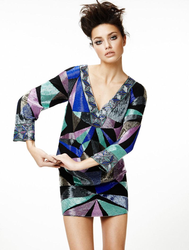 Adriana Lima for Vogue