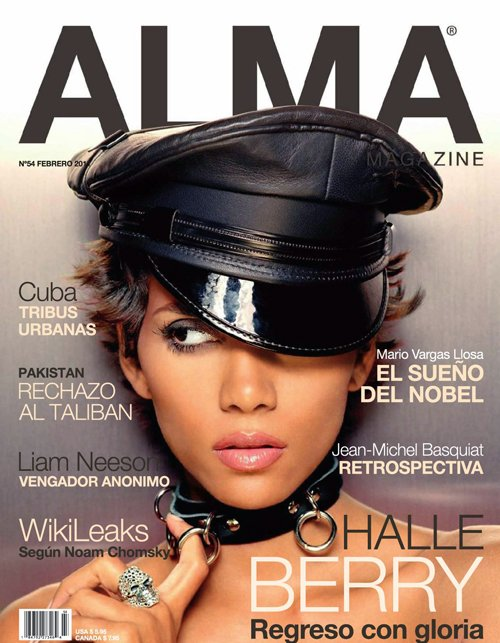 halle berry for alma magazine february 2011 art8amby 39 s blog. Black Bedroom Furniture Sets. Home Design Ideas