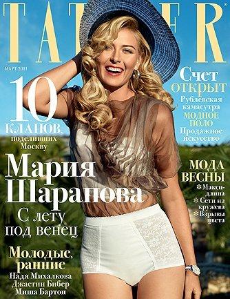 maria sharapova 2011. Maria Sharapova for Tatler
