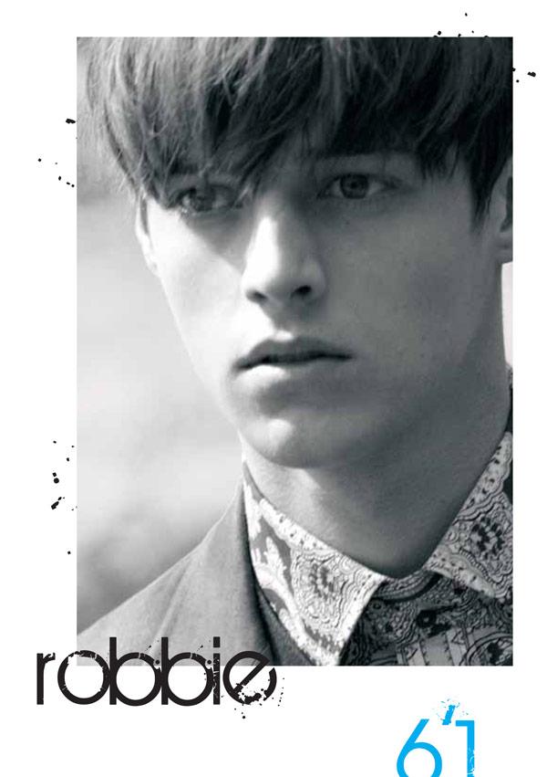Boy Model Robbie Silver