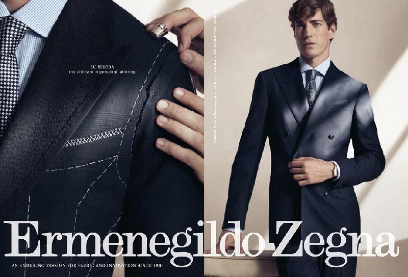 Ermenegildo Zegna Spring Summer 2011 Ad Campaign