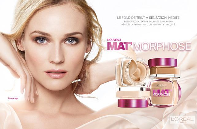 L'Oreal Mat'Morphose Ad Campaign Preview | Art8amby's Blog