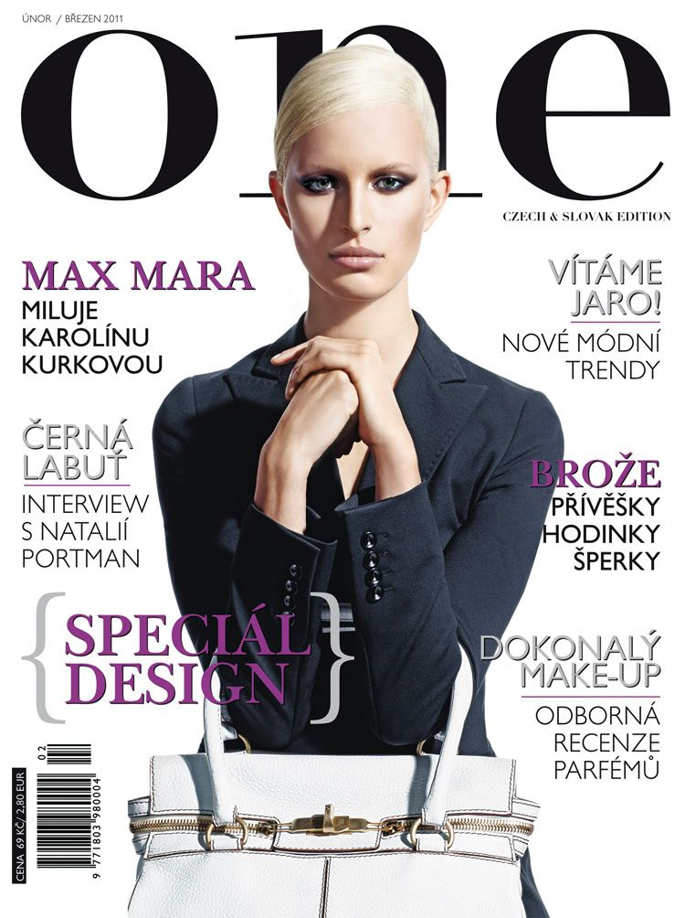 Karolina Kurkova for One Magazine February/March 2011 ...