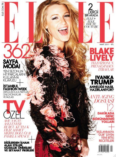 Blake Lively for Elle Turkey March 2011