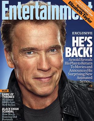 arnold schwarzenegger 2011. Arnold Schwarzenegger for