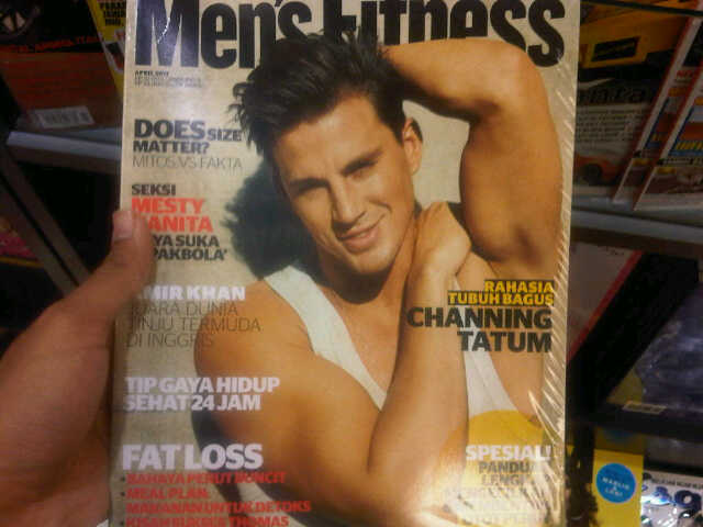 Channing Tatum for Men's Fitness Indonesia April 2011