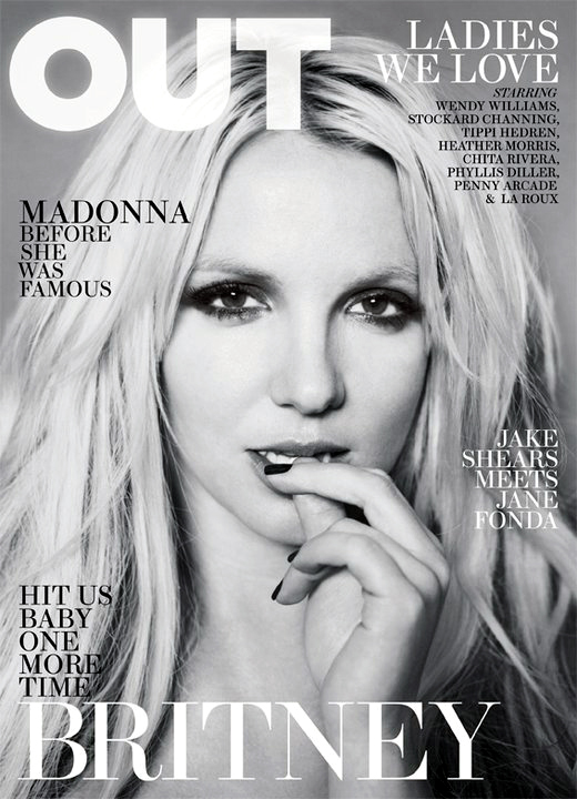 britney spears out magazine cover. Britney Spears for OUT